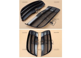 Audi R8 Carbon Fiber Front Vent Air Duct Replacements Bodykit