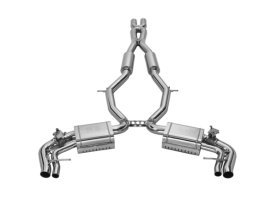 Mercedes-Benz S63 AMG COUPE 'RAZOR' Valve-Tronic Exhaust System