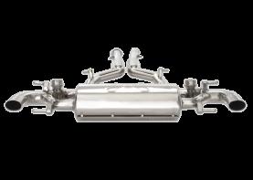 Mercedes-Benz SLS AMG COUPE 'RAZOR' Valve-Tronic Exhaust System