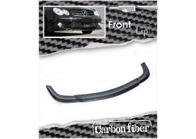Mercedes-Benz W209 CLK CLK55 AMG Carbon Fiber Front Bumper Lip Spoiler