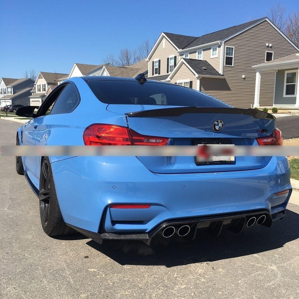 BMW F80 M3 F82 F83 M4 Carbon Fiber Rear Diffuser Body Kit
