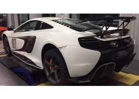 McLaren Mp4-12C & 650S Carbon Fiber Rear 2PC Spoiler Wing
