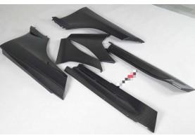 McLaren Mp4-12C & 650S Carbon Fiber Side Skirt Splitters