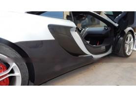 McLaren MP4 12C Carbon Fiber Side Intake Tuning Vanes