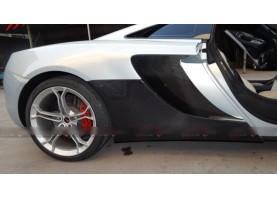 McLaren Mp4 12C Carbon Fiber Under Quarter Rocker Panels Body Kit