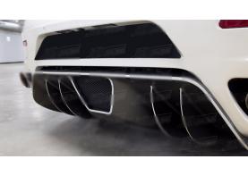 OEM STYLE CARBON FIBER REAR DIFFUSER FOR 2005-2009 FERRARI F430