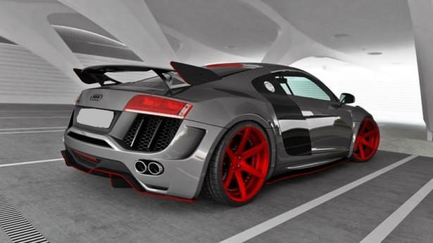 Audi R8 Wide Body kit 'P1'
