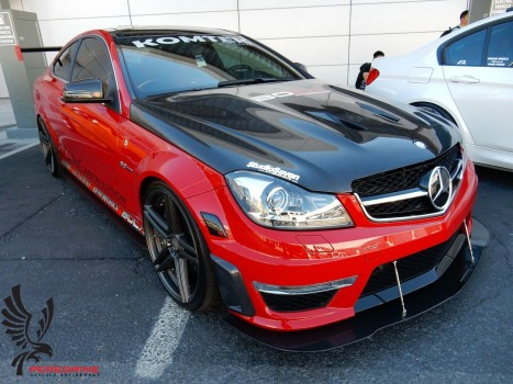 Mercedes-Benz C63 AMG Facelift Carbon Fiber GT Street package
