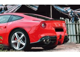 Ferrari F12 Berlinetta Carbon Fiber Rear Diffuser Bodykit 4PC