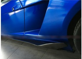 Lamborghini Gallardo Carbon Fiber Side Skirt Splitters