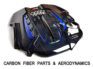 CARBON FIBER PARTS & AERODYNAMICS