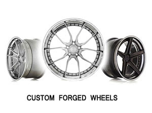 CUSTOM FORGED WHEELS